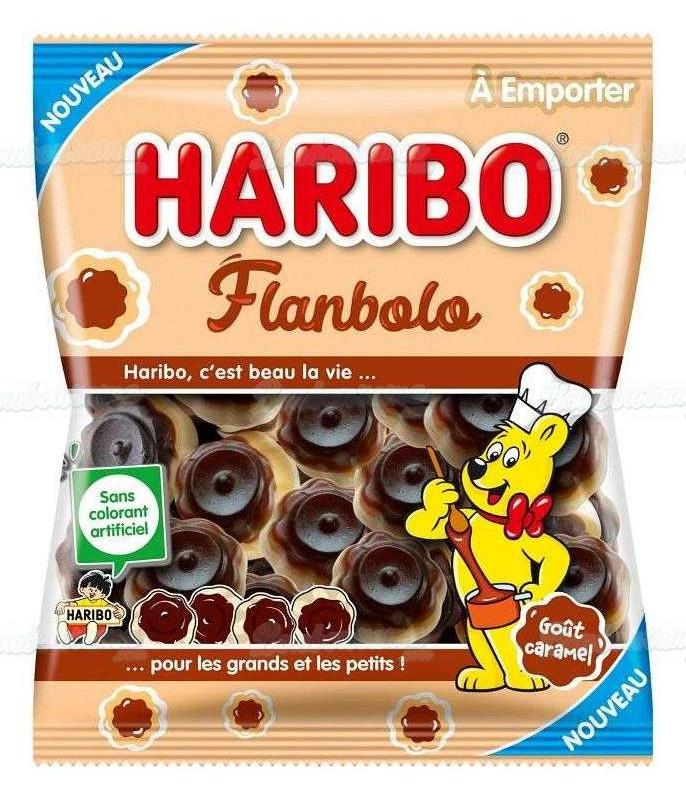 Sachet Haribo 120 gr Flanbolo x 30