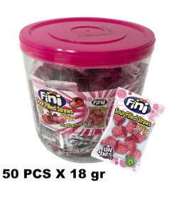 Mini Pailles Acide Tubo 50 pcs x 18 gr