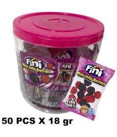 Mini Jelly Berries 50 x 18 gr