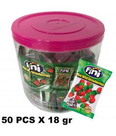 Mini Fraise 50 pcs x 18 gr