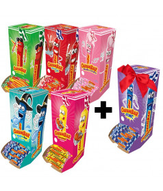 Pack Carambar 5 Flavours + 1 free