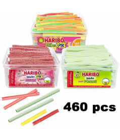 Lot Stick Haribo 3 parfums