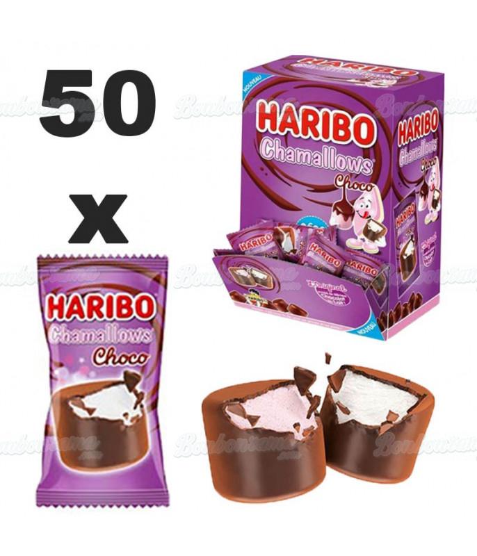 Chamallow Choco Haribo x 50 pcs