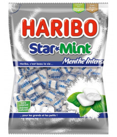 Haribo Bag Star Mint 100 gr x 30