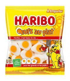Sachet Haribo 120 gr Oeuf au plat x 30