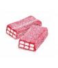 Sour Jelly Brick Strawberry 1 Kg