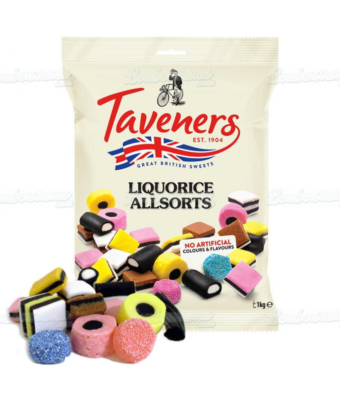 Reglisse Anglaise Taveners 1 kg