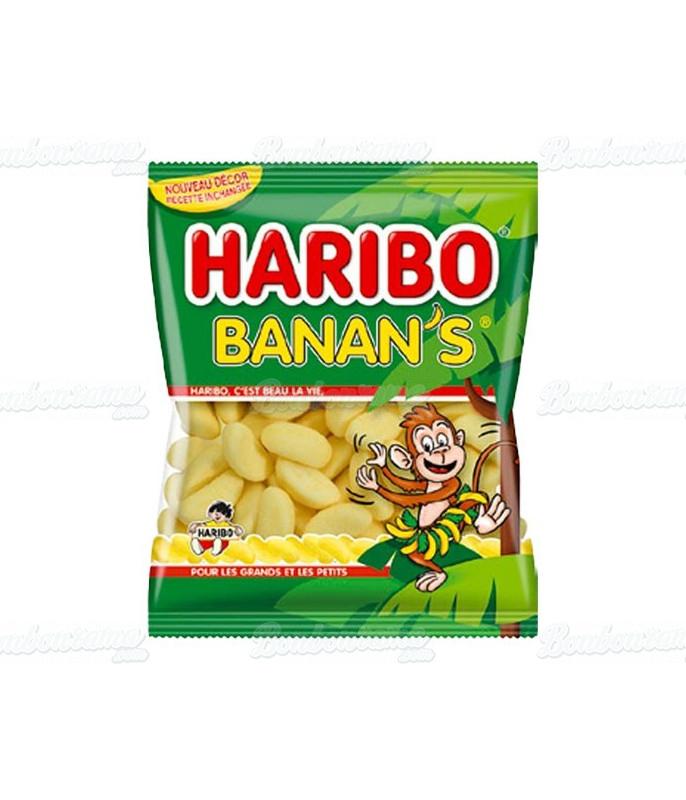 Sachet Haribo 120 gr banan's x 30