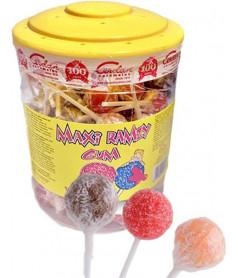 MAXI Ramzy Fizzy MIX x 100 pcs JAR
