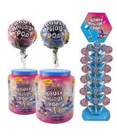 Sucette Boule Magique Pop x 120 sur manège