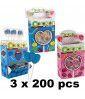 Pack Mini Heart Lollipop x 600 pcs