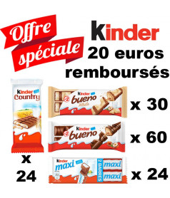 Lot Kinder x 138 pcs
