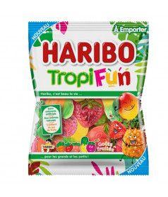 Sachet Haribo 100 gr TropiFun x 30