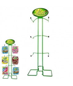 Display Metal Lutti 6 hangers
