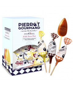 Sucette Pierrot Gourmand Mix x 100
