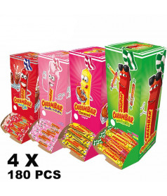 Pack of Carambar 4 x 180 pcs