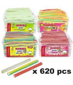 Lot Stick Haribo x 620 pcs