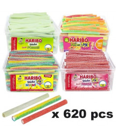 Pack Haribo Stick x 620 pcs