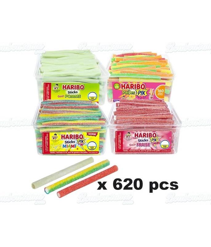 Lot Stick Haribo x 630 pcs
