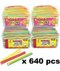 Lot Stick Pik Haribo x 640 pcs