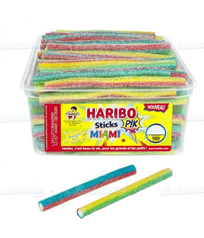 Stick Miami Pik Haribo x 160 pcs
