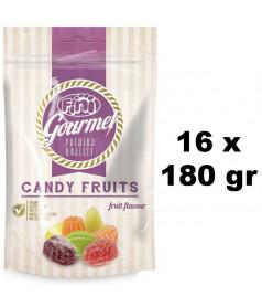 Sachet Fini Gourmet Candy Fruits 180 gr x 16