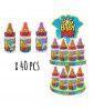 Big Baby Pop Carrousel x 40 pcs