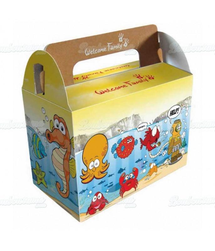 Boîte Surprise Mer x 50