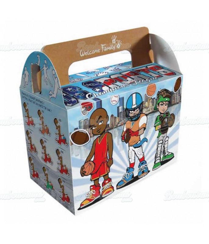 Boîte Surprise Sports Us x 50