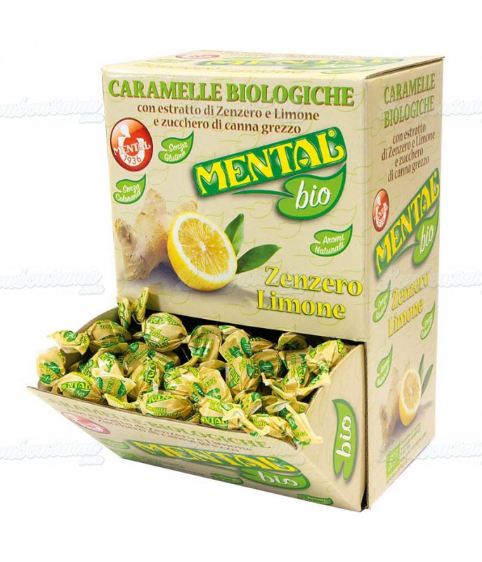Bonbon Bio Gingembre & Citron 750 gr