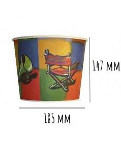 Gobelet à Pop Corn Taille 3 - 2,5 L x 300 pcs