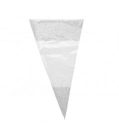 Sachet Cône Blanc 25x46 x 250 unités