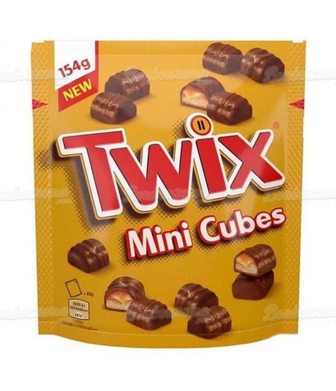 Twix Mini Cubes 154 gr x 9 sachets