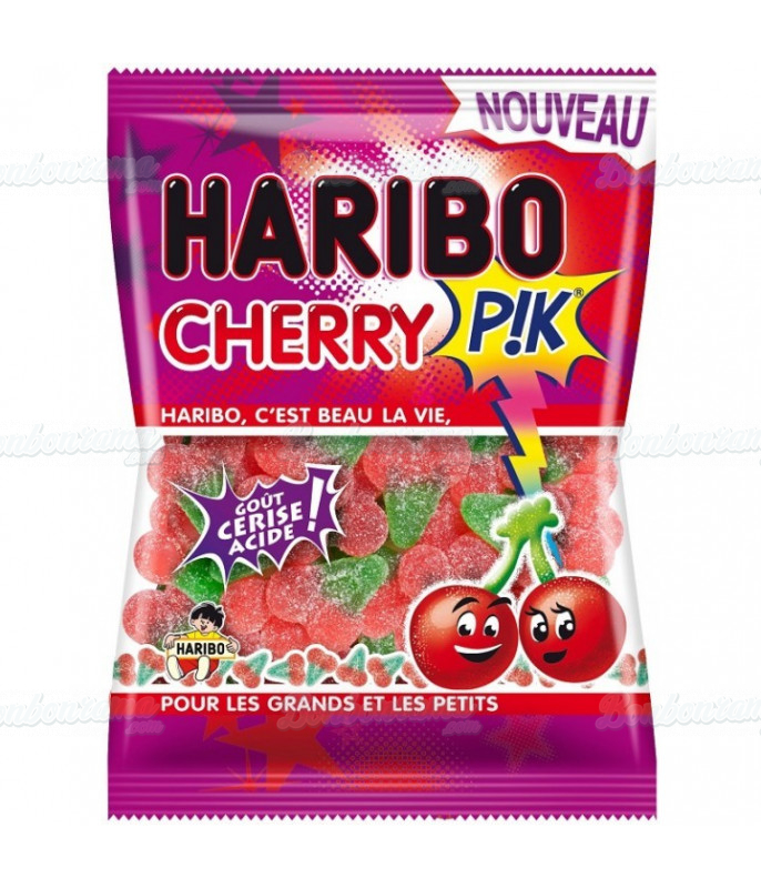Sachet Haribo 120 gr Cherry Pik x 30