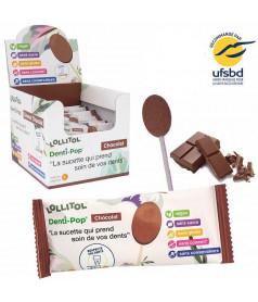 Sucette Denti-Pop Chocolat x 40 pcs