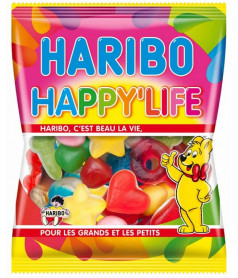 Sachet Haribo 120 gr Happy Life x 30