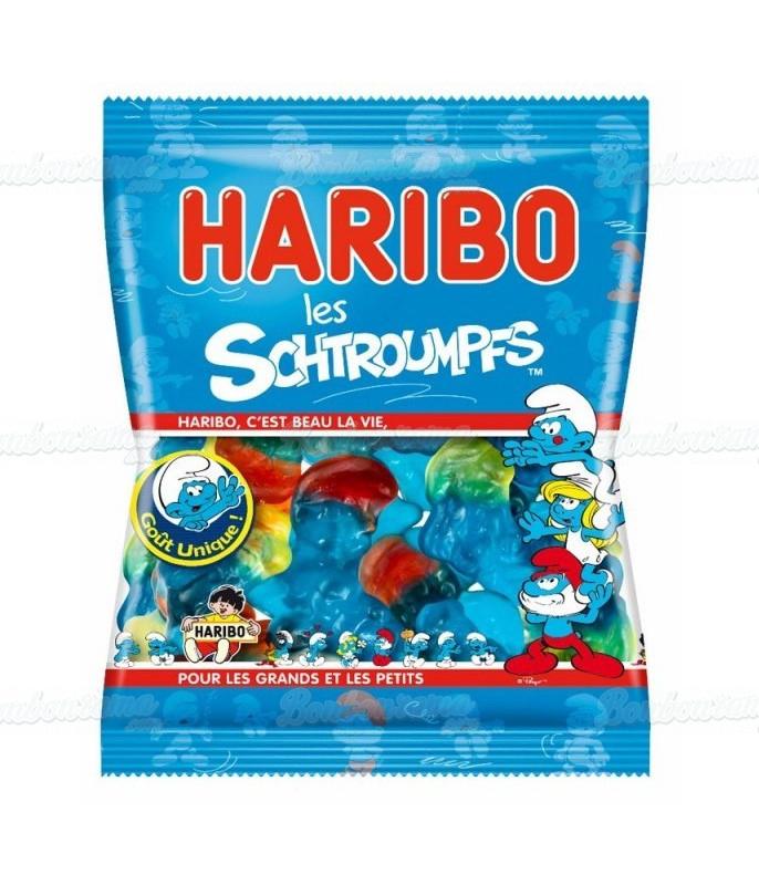Sachet Haribo 120 gr Schtroumpfs x 30
