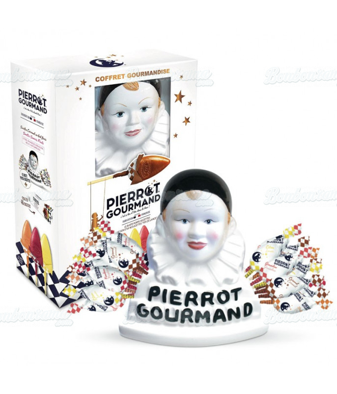 Buste Pierrot Gourmand + 40 sucettes