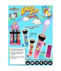 Laser Pop Unicorn x 12 pcs