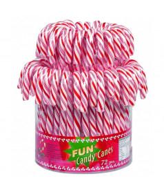 Candy Cane Rouge x 72 pièces (Canne en sucre)