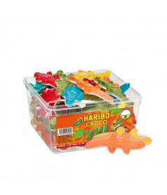 Maxi Crocodile Haribo Tubo de 60 pcs