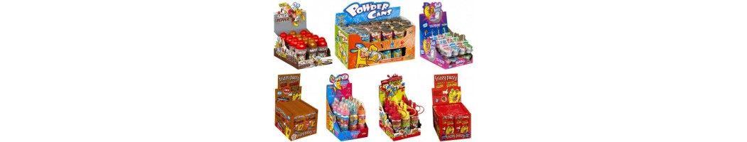 Bonbons et confiseries ludiques gadgets sprays jouets biberons en gros