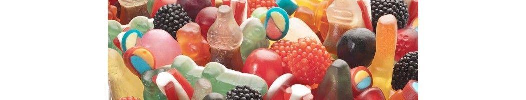 Catalogue de bonbons gélifiés lisses distribués en gros par bonbonrama