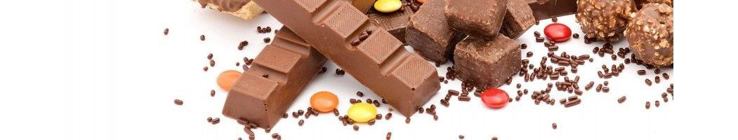 Confiseries à base de chocolat ou de caramel