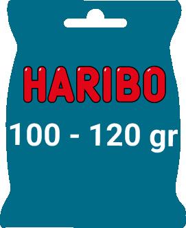 Sachet Haribo 100/120 gr