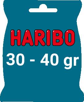Sachet Haribo 30/40 gr